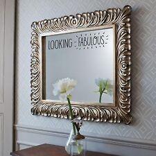 Espléndida Espejo pegatina Baño Dormitorio Funny felicitar Lindo Arte De Pared