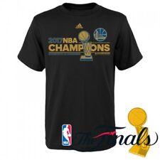 adidas Golden State Warriors Black 2017 NBA Finals Champions Locker Room T-Shirt