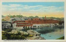 Old Postcard - Finch Pruyn Paper Company - Glens Falls New York