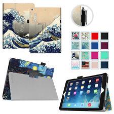 For iPad Air 1st 2013 Folio Case Slim Fit PU Leather Smart Cover w/ Sleep / Wake