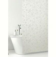 Tenda doccia bagno antimuffa pvc impermeabile ganci inclusi fiori made in italy