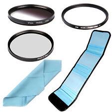 52/55/58/62/67/72/77/82mm Circular Polarizing CPL+Graduated ND+Star+6 Filter Kit