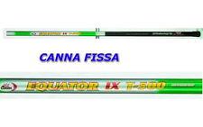 canna da pesca fissa metri 3 4 5 6 7 8 9 in fibra di vetro robustissima carpa