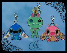 Disney Lilo & Stitch metal & enamel pet cat dog collar charms charm