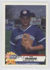 1993 Fleer ProCards Minor League #1870 Derek Brandow Hagerstown Suns Rookie Card