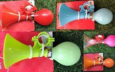 Trombetta manubrio bici bicicletta bimbo bimba rosa verde azzurra tromba horn