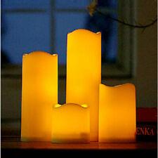 4 Tamaño Lámpara VELA LED Candle Light Romántica Sin llama LED Hogar Decoración