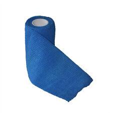 Self-adhesive Elastic Bandage Gauze Wound  Dressing Grass  Frist Aid Blue 3''