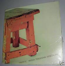 TABURETE MUSICA TRADICIONAL Venezolana SEALED Latin LP