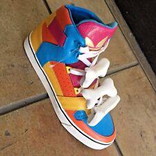 Men's Adidas JEREMY SCOTT Bones Multicolor Fashion Sneakers