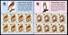 Philippines 2946-2947, MNH, Birds Owls WWF. x454