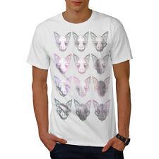 CROCE Zucchero Teschio Morte Uomo Manica Lunga T-shirt Nuovewellcoda