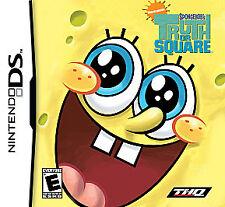 SpongeBob's Truth or Square (Nintendo DS) 3ds, XL, Dsi