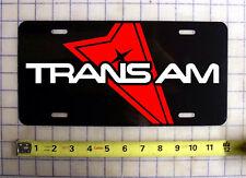 PONTIAC TRANS AM CUSTOM LICENSE PLATE / CAR TAG