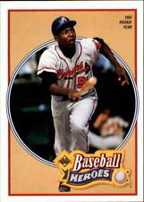 1991 Upper Deck Baseball Insert Singles (Pick Your Cards)