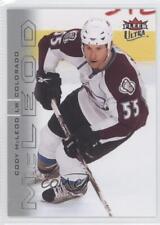 2009-10 Fleer Ultra #192 Cody McLeod Colorado Avalanche Hockey Card
