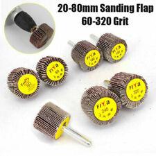 20~80mm Sanding Flap Grind Wheel Disc Abrasive Rotary Drill 6mm Shank 60~320Grit