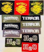 MADBALL TERROR HATEBREED H2O HARD CORE patches punk