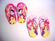 Flip Flops Beach Sandal Disney Princesses Toddler Child Sizes 5 to 3 NEW
