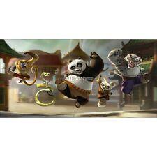 Pegatinas habitación de niño cabeza de colcha Kung Fu Panda ref 8479