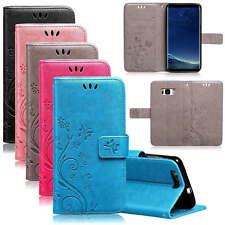 Handytasche Samsung Galaxy Flip Case Handyhülle Cover Schutz Hülle Etui Wallet