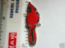Cardinal Bird Pin (lg)
