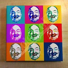 Moore Marriott (Harbottle) 'Pop Art' Canvas - Comedy (Will Hay, Arthur Askey)