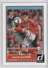 2015 Panini Donruss Press Proof Bronze #61 Nico Gaitan Benfica Soccer Card