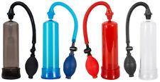 Penispumpe Bang Bang, schwarz | rot | blau | transparent, Potenzpumpe, Vakkum