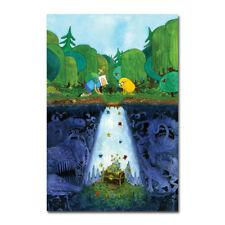 Adventure Time Finn & Jake Funny Cartoon Canvas Movie Vintage Posters Art Prints