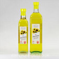 RAW Sunflower Oil, cold-pressed, unrefined, crude Ol'Vita - Olej słonecznikowy