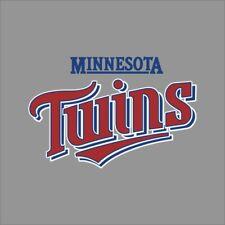 Minnesota Twins #12 MLB Team Logo Vinyl Decal Sticker Car Window Wall Cornhole