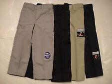DICKIES KP321/KP3321 Boys Flexwaist Flat Front Pants 4 5 6 7 8 10 12 14 NWT