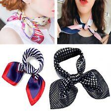Foulard sciarpa fazzoletto da collo donna in raso seta bandana hostess  nautica c27795a378f1