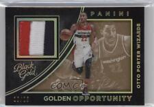 2015 Panini Black Gold Golden Opportunity Prime #38 Otto Porter Basketball Card