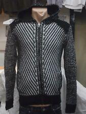 Da Uomo Felpe/Pully-Giacca Blackrock SUPER Knitwear thick Cardigan.