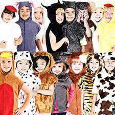 ANIMAL TABARD COSTUME BAMBINI LIBRO SETTIMANA Zoo Per Bambini Ragazzi Ragazze Costume Nuovo