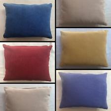 Plain Chenille Rectangle Cushion Cover Handmade Pillow Case Sofa Bed Home Decor