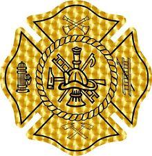 Fire Department maltese cornhole board game vinyl graphic decals