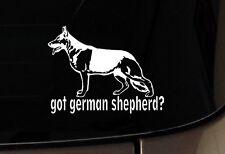 German Shepherd GSD Dog iPad Vinyl  Car Window Decals Sticker Love My