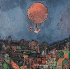 Cuadro de madera The balloon - Paul Klee