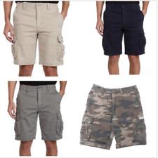 UnionBay Men's Flex Waist Cargo Shorts Relaxed Fit Flex Waist Oversized Pockets