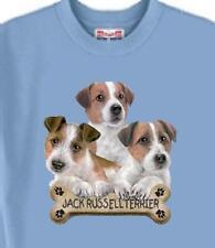 Dog T Shirt - Jack Russell Dog Bone - Adopt Animal Rescue Friend Men Women # 31
