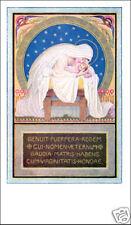 SANTINO HOLY CARD MARIA CON GESU' BAMBINO GERMANIA