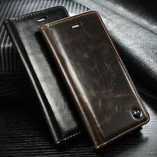 Samsung Galaxy S7 Edge Hülle Handytasche Flip Case Kunstleder Handyhülle Cover