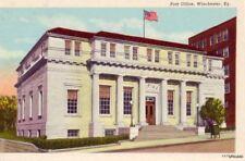 U.S. POST OFFICE WINCHESTER, KY CURTEICH 6A79-N