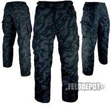 Us BDU pantalon night camo rip-stop pantalon Army Field pants