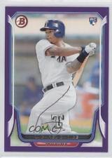 2014 Bowman Purple #174 Michael Choice Texas Rangers Baseball Card