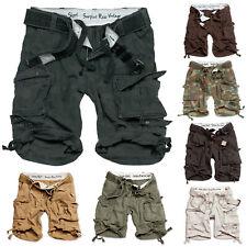 Surplus Cortos Cargo DIVISION Shorts Pantalones Vaqueros Chino en el aire