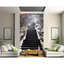 Sticker mural géant trompe l'oeil escalier 161 161